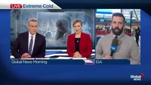 Edmontonians fleeing the freezing weather to warmer destinations
