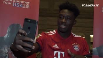 9bd624d6a Edmonton-raised Alphonso Davies watches from Bayern Munich bench as ...