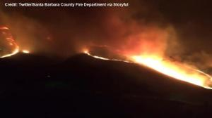 California wildfire explodes to 1,200 acres overnight