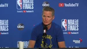 NBA Finals: Kerr says last game at Oracle Arena a 'unique' moment