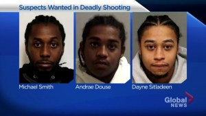 3 suspects wanted in death of 26-year-old Blain Grindley