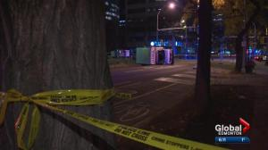 Edmonton police speak to pursuit downtown