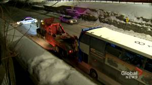 Bus involved in fatal Ottawa crash removed from scene