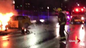 Fatal crash closes Burrard Bridge