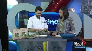Calgary restaurant on using aquaponics for leafy greens