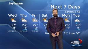 Global Edmonton weather forecast: June 11