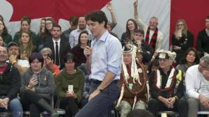 Child questions what Trudeau is doing 'to make this country a better place'