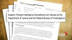 US Congress releases memo accusing FBI of abusing power during the Russia probe
