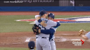 Canadian pitcher James Paxton throws no-hitter against Blue Jays