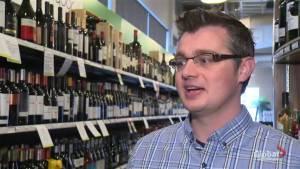 Wine label study