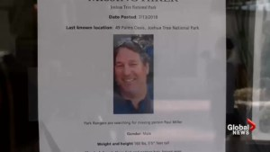 Search for Canadian in Joshua Tree National Park scaled back