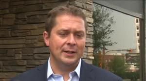 Scheer Responds to Bernier's Controversial Tweets