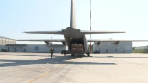 Canada sends plane with military supplies to Ukraine