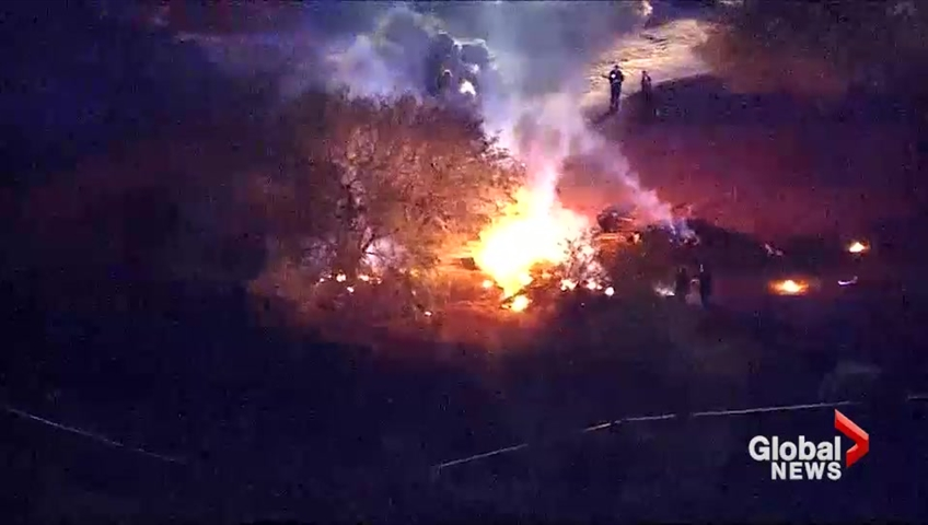 Six Killed As Plane Crashes Into Arizona Golf Course