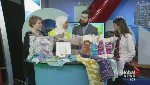 Student artists sell handmade items at Winter Show & Sale (03:49)
