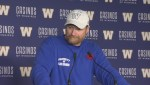 RAW: Blue Bombers Mike O'Shea Media Briefing – Nov. 10