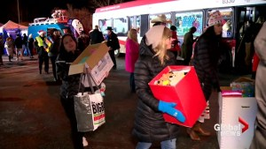 Morning of Giving brings Magic of Christmas to less fortunate Calgarians