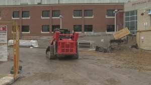 Steinbach hospital entrance revamped again