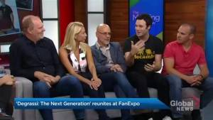 The cast of Degrassi reunites at Fan Expo