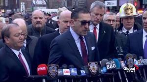 Authorities provide update on people injured in New York explosion