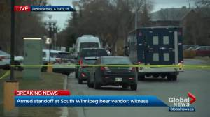 UPDATE: Police yelling at suspect to 'put down the knife'