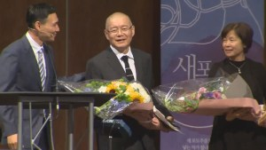 Canadian pastor freed from North Korean prison makes first public appearance at church