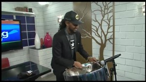"Dejahan ""LuckyStickz""  Hamilton plays steel pan treatments for the single ""Magic"" off his new EP ""Every Day Battle"""