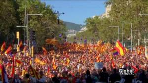 Catalonia's leader flees Spain amid rebellion charges