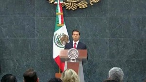 Mexico's Pena Nieto says he agreed to meet Trump during transition period