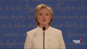 Presidential debate: Hillary attacks Trump's idea on punishing women who get abortions