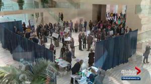 Record number of candidates file nomination papers for Edmonton's municipal election