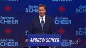 Andrew Scheer says Canada's real strength is freedom, not diversity