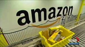 Edmonton makes bid to bring Amazon headquarters to city