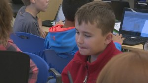 Newest Lethbridge school replacing textbooks with laptops