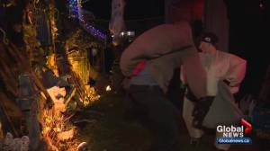 Cool temperatures fail to put a damper on Halloween fun in Edmonton