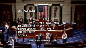 U.S. House passes border aid bill with provisions concerning migrant children's treatment