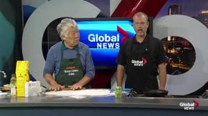 Recipe for Edmonton's original green onion cake (Part 2) (03:28)