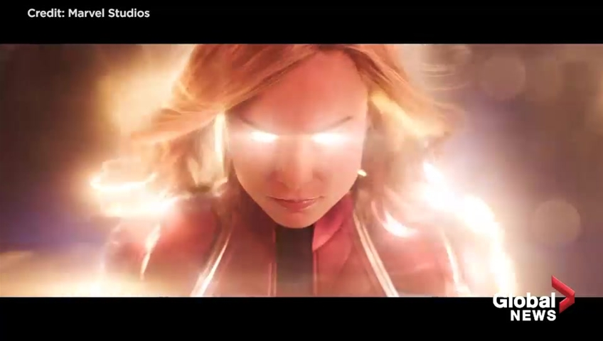 1 moment in the new 'Captain Marvel' trailer really has people confused