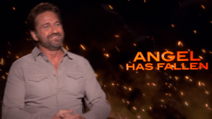 Gerard Butler Talks 'Angel Has Fallen'