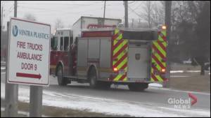 Fire breaks out at Ventra Plastics plant in Peterborough