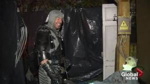 Grenfell Road haunted house hauls in food donations