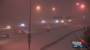 2nd major snowfall hits Calgary and southern Alberta this week