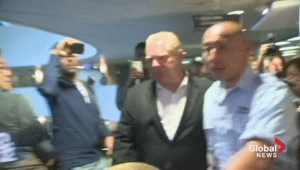 Doug Ford arrives at City Hall to enter mayoral race