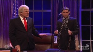 SNL features 'ghosts' of Donald Trump's past, including Michael Flynn