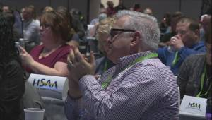 Hundreds gather at Alberta Federation of Labour convention in Calgary