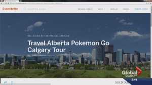 Pokemon Go craze comes to Calgary