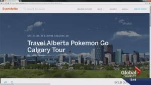 Pokemon Go craze comes to Calgary