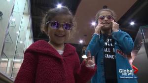 Optometrists suggest children start wearing sunglasses at a young age
