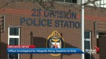 Officer allegedly intoxicated while on duty