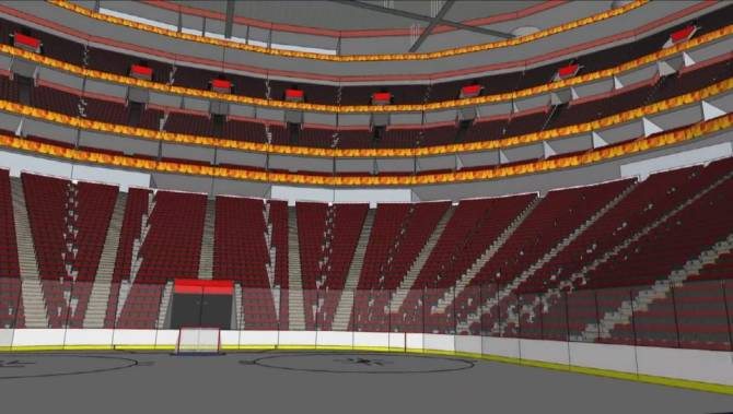 Watch Calgary Teen Designs New Flames Arena Calgary